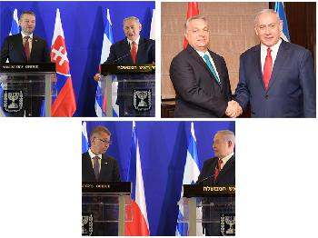 Netanyahu trifft Amtskollegen