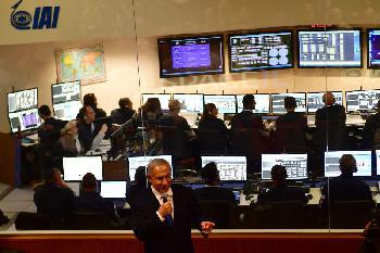 Israelische Raumsonde auf dem Weg zum Mond [Video]
