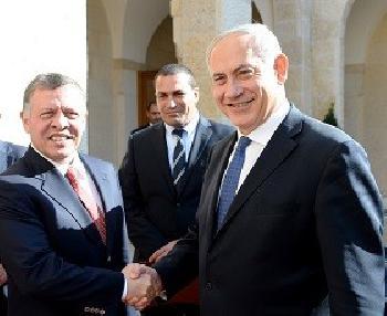 Netanyahu mit König Abdullah II von Jordanien zusammengetroffen