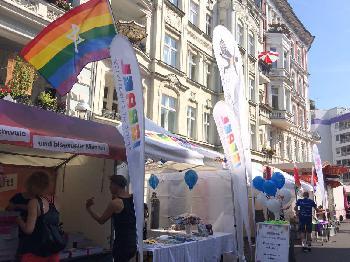Israel auf dem Lesbisch-Schwulen Stadtfest