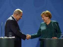 Netanyahu trifft Merkel