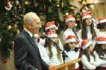 Präsident Peres wünscht Christen frohe Weihnachten