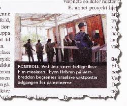 Norwegische Gewerkschaften beschuldigen Juden palästinensisch-arabische Brunnen zu vergiften