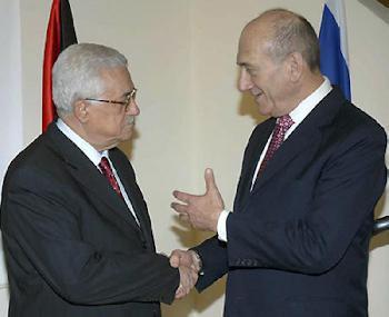 Friedensplan 2008: Olmert bot Abbas mehr als 100% der Westbank an