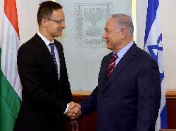 Netanyahu empfängt ungarischen Außenminister