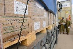 """Humanitäre Hilfe Israels seit Beginn der Operation """"Schutzlinie"""""""