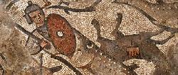 Ältestes Mosaik mit Jona und dem Wal in Synagoge in Galiläa gefunden
