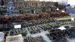 Gigantische Waffenarsenal von Islamisten in Europa - auch Granaten, Haubitzen und Maschienengewehre
