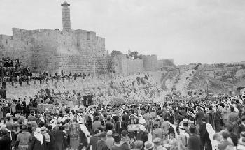 Juden und Araber gemeinsam gegen die Nazis