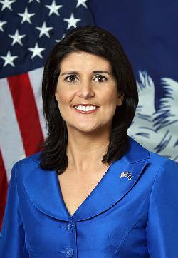 Nikki Haley wird neue Botschafterin der USA bei der UN