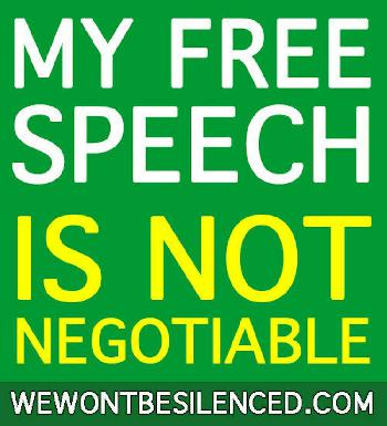 Angst als Waffe gegen Meinungsfreiheit