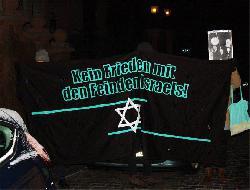 50 Personen bei Kundgebung gegen Finkelstein und das Max-Planck-Institut in Halle