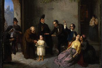 Entführung eines jüdischen Kindes im Namen der katholischen Kirche