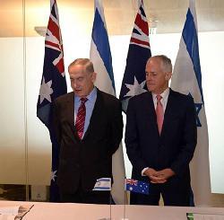 Premierminister Netanyahu besucht Singapur und Australien