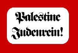 Palästinenser: Wir werden kein jüdisches Israel akzeptieren