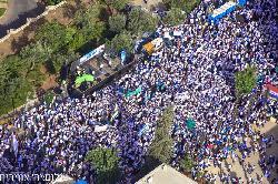 Bilderstrecke vom heutigen Jerusalem-Marsch