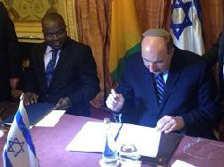 Wiederaufnahme der Beziehungen zwischen Israel und Guinea