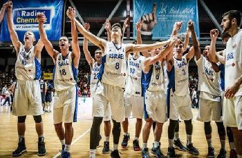 Israel Europameister im Basketball der U20