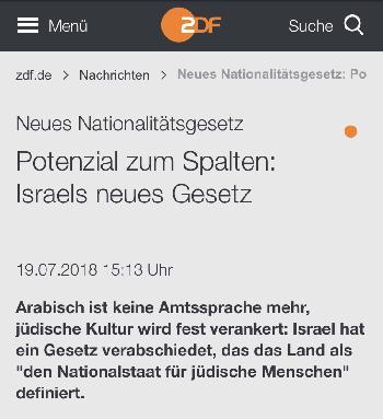 Fake News (nicht nur) beim ZDF