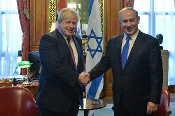 `Boris Johnson ist ein guter Freund Israels´