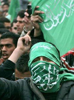 Hamas: Wählt uns oder schmort in der Hölle