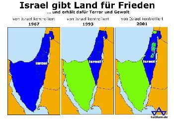 Palästinensisches Ausnahmeverhalten verhindert `Zweistaatenlösung´