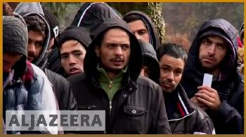 Asyl in Europa. Islam aus Katar.