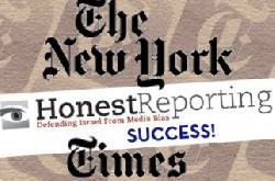 Erfolg – Foto-Empörung: Die New York Times gibt zu, dass sie eine Fehler machte