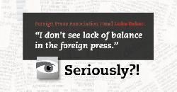 Auslandspresse-Chef: keine Medienvoreingenommenheit gegenüber Israel?!