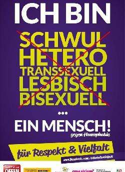"""Kampf gegen Homophobie ist Bestandteil im \""""Masterplan Integration und Sicherheit\"""""""