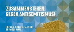 Zusammenstehen gegen Antisemitismus