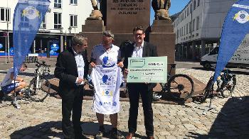 DPolG Spendentour erfolgreich unterwegs