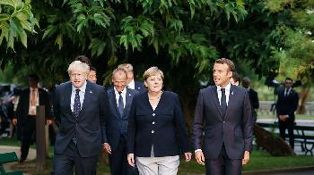 """Vor dem G7-Gipfel: """"Miteinander sprechen ist allemal besser als übereinander"""
