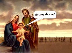 Josef und Maria waren `Asylsuchende´ aus `Palästina´