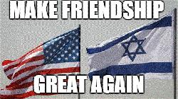 Israel: Münze mit dem Bild von Präsident Trump geprägt