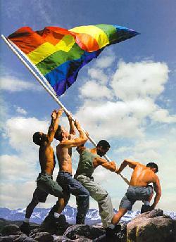 Seht, da sind auch Lesben, Schwule und Transgender