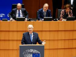 Staatspräsident Rivlin in Brüssel