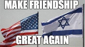 Trump rangierte den Zuckerbrot-und-Peitsche-Politik gegenüber Israel aus