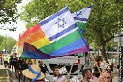 Israel beim Christopher Street Day in Berlin