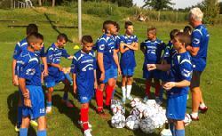 Junge Fußballer aus Abu Gosch besuchen Brandenburg