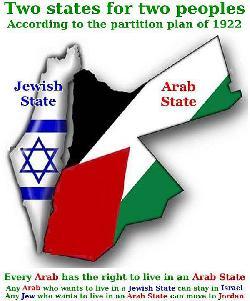 """Warum Israel nicht noch einen zweiten Staat """"Palästina"""" anerkennt ...."""