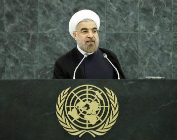 Rohani vor der UNO: Israel ist die größte Gefahr für den Weltfrieden