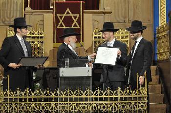 Feierliche Ordination von Rabbinern und Kantoren in Berlin