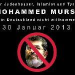 Mursi: Die Juden verfälschten meine antisemitischen Kommentare*