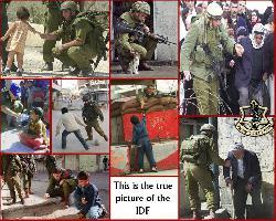 [Foto der Woche] Das wahre Gesicht der israelischen Armee