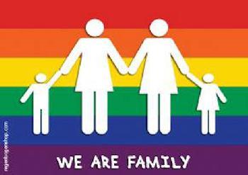 Regenbogenfamilien-Trecker beim 1. CSD Falkensee
