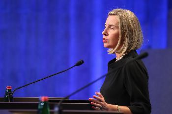 Mogherini will Anschuldigungen wegen Terrorfinanzierung nicht hören