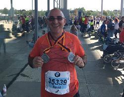 Israelische Teilnehmer beim Berlin-Marathon