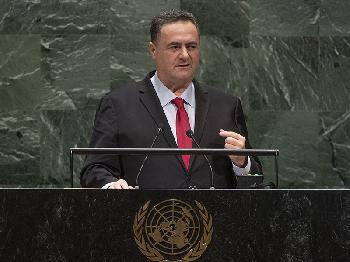 Außenminister Katz bei der UN-Generalversammlung