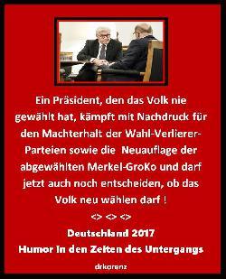 Steinmeiers GroKo